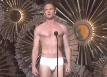 Neil Patrick Harris In briefs at the Tony Awards