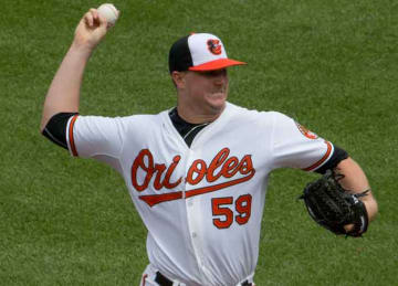 Orioles pitcher Mike Wright has meltdown in dugout
