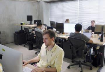 LINEが京都市に新設した研究開発拠点=13日