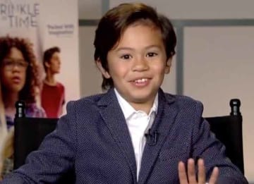 'A Wrinkle In Time' Co-Star Deric McCabe Tells Fellow Child Actors To