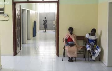 MSFが活動するガンベラ病院