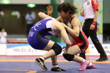 53・55kg級で3連覇を達成、世界選手権への道が確実となった向田真優