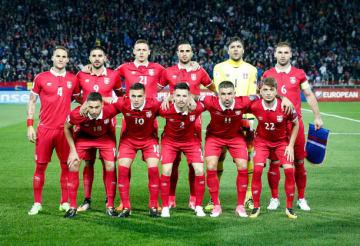 サプライズ候補のセルビア代表 photo/Getty Images