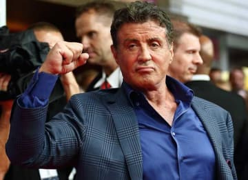 COLOGNE, GERMANY - AUGUST 06: Sylvester Stallone attends the German premiere of the film 'The Expendables 3' at Residenz Kino on August 6, 2014 in Cologne, Germany. (Photo by Andreas Rentz/Getty Images)