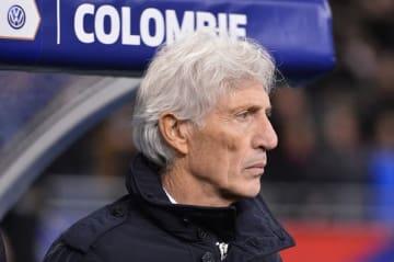 コロンビア代表を指揮するペケルマン photo/Getty Images