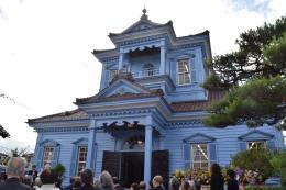 外観が一新された旧鶴岡警察署庁舎