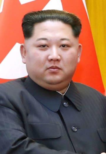北朝鮮の金正恩朝鮮労働党委員長(新華社=共同)