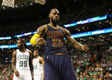 LeBron James passes Michael Jordan on NBA all-time playoff scoring list in Cavs' Game 5 win vs Celtics