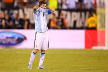 何度か決勝で敗れているメッシ photo/Getty Images