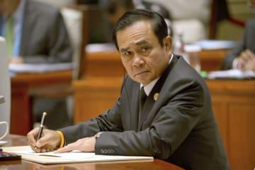 顔:Thai PM Prayut in China in 2017, 2018010600441