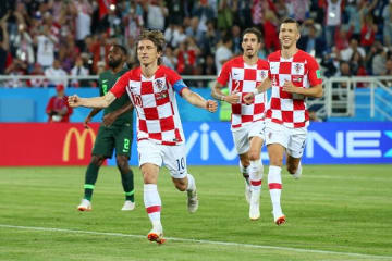 盤石の試合運びで好スタートを切ったクロアチア photo/Getty Images