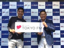 松木安太郎さん(右)と中西哲生