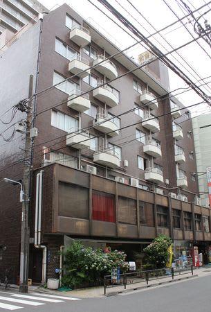 現在の東京新潟県人会館=東京都台東区上野1