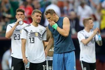 メキシコに敗れたドイツ photo/Getty Images