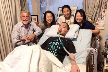 「一般社団法人END ALS」を立ち上げた藤田正裕さん。元上司や元同僚の皆さんと