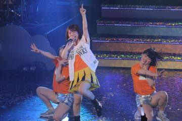 福岡サンパレス ホテル&ホールでライブを開催した内田真礼さん