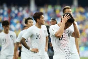 スウェーデンに敗れてしまった韓国 photo/Getty Images