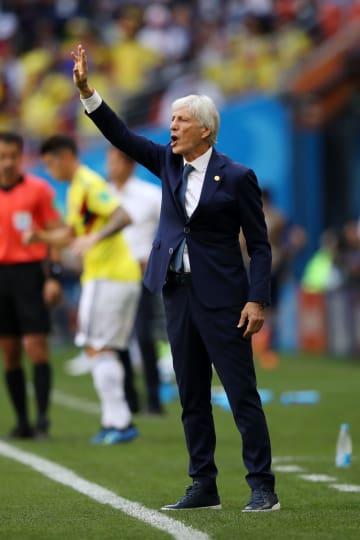 Colombia coach Pekerman