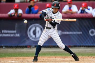 昨年の「第11回 BFA U18アジア野球選手権大会」でも活躍した報徳学園・小園海斗【写真:Getty Images】