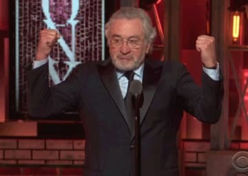 Politics At The Tony Awards 2018: Robert De Niro Says 'F––k Trump' Twice