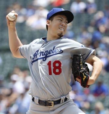 Baseball: Dodgers' Maeda
