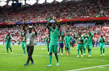 ポーランドを撃破したセネガル代表 photo/Getty Images