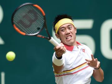 Tennis: Nishikori at Gerry Weber Open
