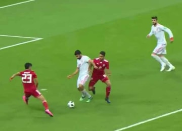 Spain beats Iran 1-0 in 2018 World Cup