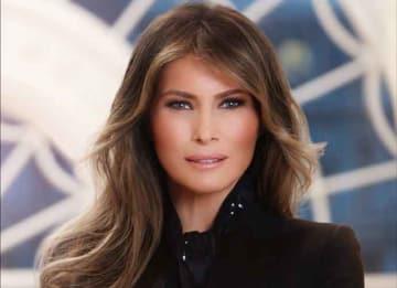 Melania Trump's Official White House Portrait