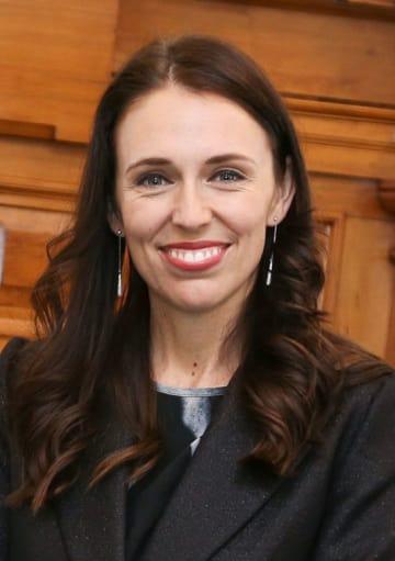 ニュージーランドのジャシンダ・アーダン首相(ゲッティ=共同)