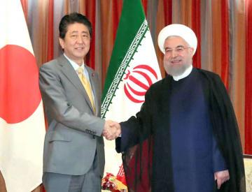 Abe, Rouhani