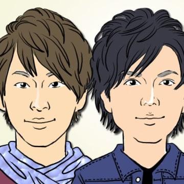 アイドルグループ『NEWS』の小山慶一郎と加藤シゲアキ
