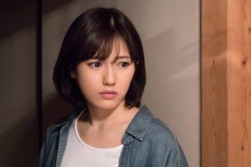 連続ドラマ「いつかこの雨がやむ日まで」に主演する渡辺麻友さん=東海テレビ提供