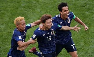 コロンビアを撃破した日本 photo/Getty Images