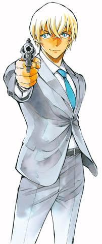 マンガ「名探偵コナン」の人気キャラクター・安室透 (C)新井隆広/小学館 (C)青山剛昌/小学館