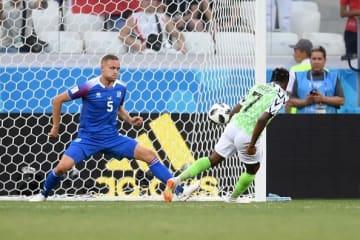 アイスランド戦で2得点のムサ photo/Getty Images