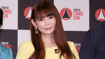 ポップカルチャーの祭典「東京コミコン2018」の開催決定&アンバサダー発表会見に出席した中川翔子さん