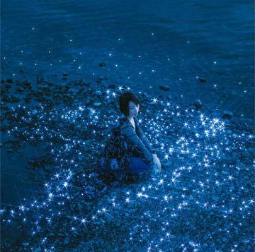 藍井エイルさんのシングル「流星/約束」の通常盤ジャケット