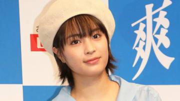 ロッテのイベント「『爽ハッピースプーン』完成披露発表会」に登場した広瀬すずさん