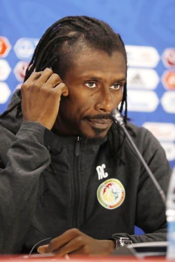 Senegal coach Cisse