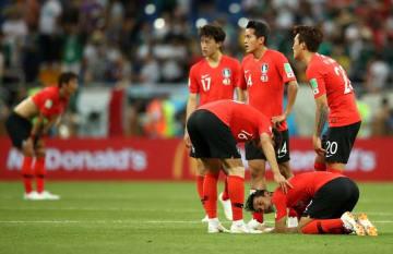 2連敗となった韓国代表 photo/Getty Images
