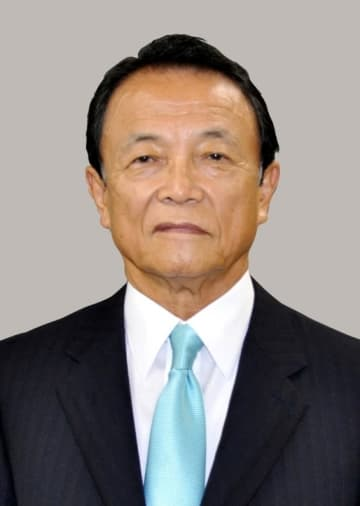 顔:Japanese Finance Minister Aso, 2018051101582