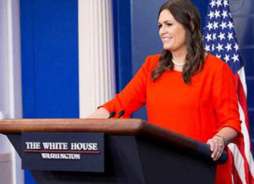 Samantha Bee Calls Sarah Huckabee Sanders A