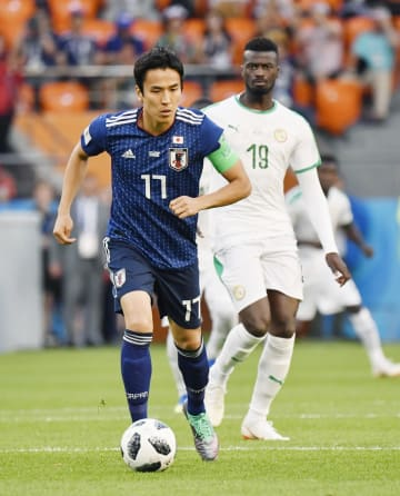 Football: Japan vs Senegal at World Cup