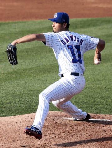 Baseball: Cubs' Darvish