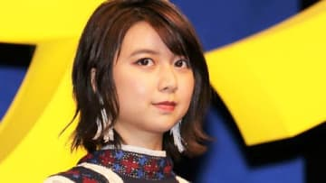 劇場版アニメ「未来のミライ」のジャパンプレミアに出席した上白石萌歌さん