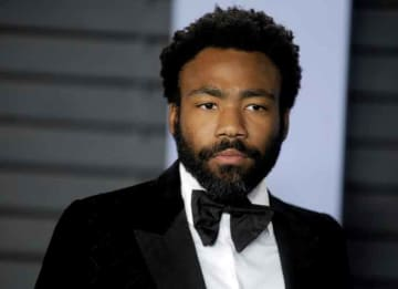 Donald Glover attends 2018 Vanity Fair Oscar Party following the 90th Academy Awards at the Wallis Annenberg Center for the Performing Arts in Beverly Hills, California.