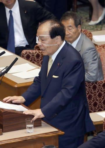 片山 虎之助 日本 維新 の会 党首 討論
