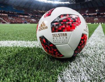 新公式球の「Telstar Mechta」。ホスト国のカラーにインスパイアされた photo/adias