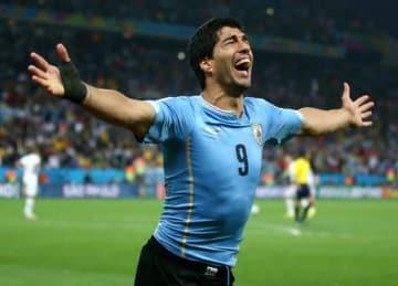 Uruguay's Luis Suarez Punches Dugout In 1-0 Copa America Loss to Venezuela